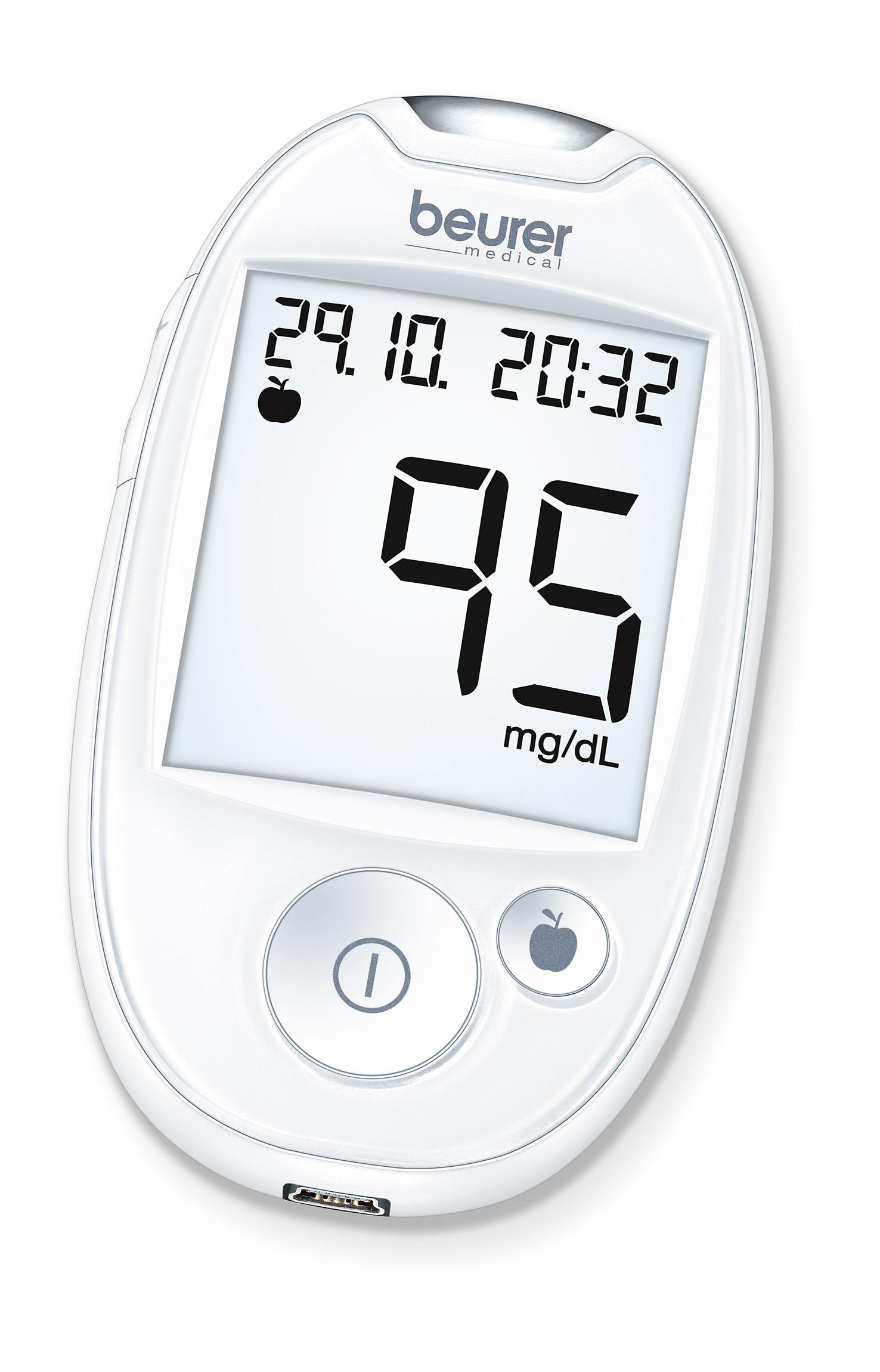 Blood Glucose Monitoring System: Type GL 44 White