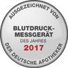 The blood pressure monitor BM 55 has been awarded the title of BLOOD PRESSURE MONITOR OF THE YEAR 2017.