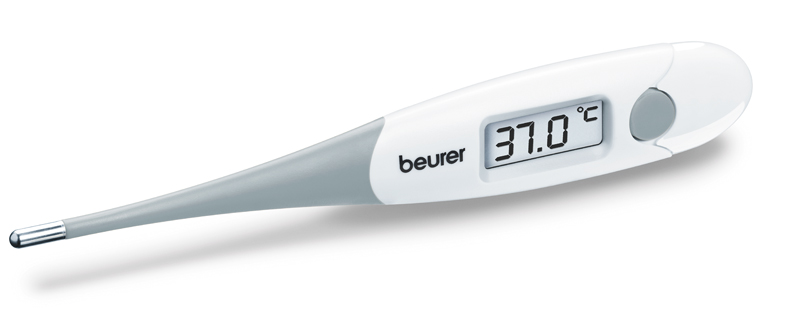 Express thermometer with flexible measuring tip: Type FT 15/1