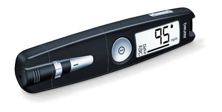 Blood Glucose Monitoring System: Type GL 50Deep black