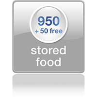 950 stored food