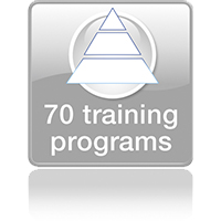 70 training programs
